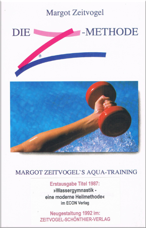 Margot Zeitvogel-Schoenthier, AQUA-TRAINING, die Z-Methode, im ZSV 1992, Buch 2, Cf
